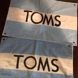 🌼2 FOR 10🌼 Toms Shoe bag and flag